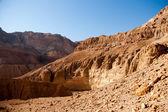 Mountains in stone desert nead Dead Sea — Stock Photo