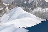 夏のアルプス山 — ストック写真