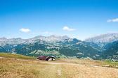 Mountain landscape in Alps — Stok fotoğraf