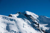 Alps mountain in summer — Stock Photo