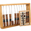 Royalty-Free Stock Photo: Old abacus isolated