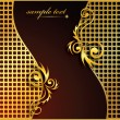 elegante abstract Vector Hintergrund — Vektorgrafik
