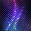 Neon abstract mosaic vector background - Stock Vector
