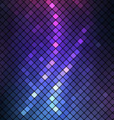 Neon soyut mozaik vektör arka plan — Stok Vektör
