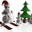 Snowmans — Stock Photo