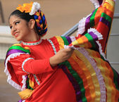 Folk Dancers — Stock Photo