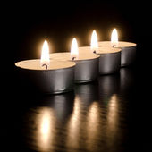 Burning candles — Foto de Stock