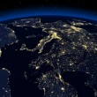 Night earth — Stock Photo