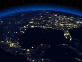 Night earth — Stock Photo