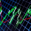 Stock Photo: Forex charts