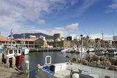 Hobart anayasa rıhtım — Stok fotoğraf