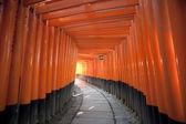 Red Torii Gates Japan — Stock Photo