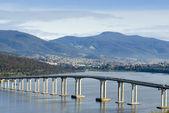 Tasman Bridge Derwent River — Stock Photo