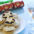 Mince pies and Sherry — Stock Photo #1346494