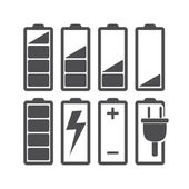 Batería — Vector de stock