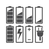 Batterij — Stockvector