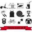 Royalty-Free Stock Vector Image: Fitness icon 3