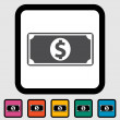 Dollar icon — Stock Vector