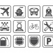 Transportation icon. — Stock Vector