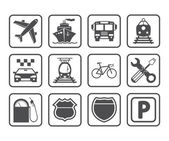 Transportation icon. — Stockvektor
