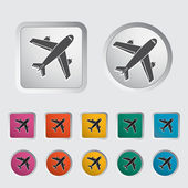 Airport icon. — Stockvektor