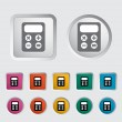 Royalty-Free Stock Vector Image: Calculator icon.