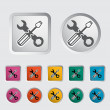 Repair icon. - Stock Vector