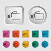 Icon automotive starter. — Stock Vector