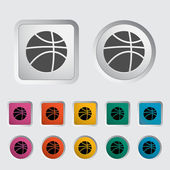 Basketball icon. — Stock Vector