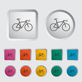 Bicycle icon. — Stock Vector