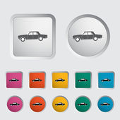 Auto ikona — Stock vektor