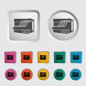 Engine icon. — Stock Vector