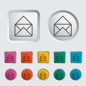 Envelope icon. — Stock Vector