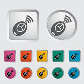 Icône de la télécommande — Vecteur