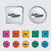 Shoes icon. — Stock Vector