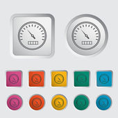 Speedometer icon. — Stock Vector