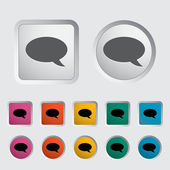 Chat icon. — Stock Vector