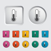 Thermometer icon. — Stock Vector