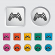 Game icon. — Stock Vector