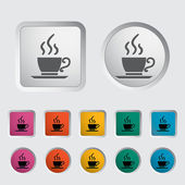Cafe single icon. — Stock vektor