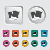 Photo single icon. — Stock Vector