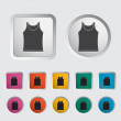 Singlet single icon. - Stock Vector
