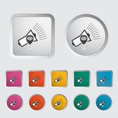 Megaphone single icon. — Stock Vector