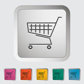Cart single icon. — Stock Vector