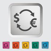 Currency exchange — Stock Vector