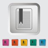 Bookmark. — Stock Vector