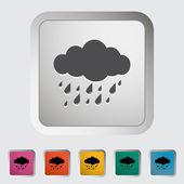 Rain icon. — Stock Vector