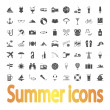 Summer Icons — Stock Vector #28674963