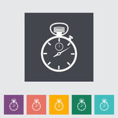 Stopwatch icon. — Stock Vector