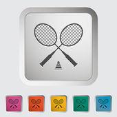 Badminton — Stockvektor